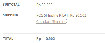 WooCommerce POS Shipping