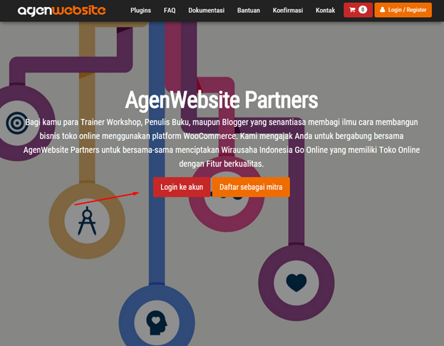 login agenwebsite partners